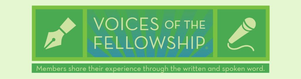 Click here for the Voices of the Fellowship